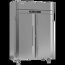 "Victory FS-2D-S1-EW-HC 58.38"" W Two-Section Solid Door Reach-In UltraSpec™ Series Freezer"