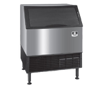 Manitowoc UYP0310A Undercounter Air Cooled Half Dice Ice Machine - 119 Lb. Bin