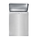 """Alpine ALP451-SSB 7-1/2""""W x 3-3/4""""D x 10""""H Wall Mounted Stainless Steel Brushed Finish Sanitary Napkin Receptacle"""