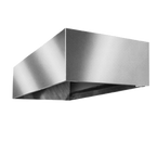 """Eagle Group HDC3636 36""""W x 36""""D x 20""""H Heavy Gauge 304 Stainless Steel SpecAir Condensate Hood"""