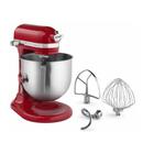 KitchenAid KSM8990ER Empire Red NSF 8 Qt. Commercial Stand Mixer - 120V 1 3/10 HP