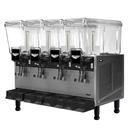 Vollrath VBBD4-37-S Electric Vollrath Pre-Mix Refrigerated Bverage Dispenser - 115V