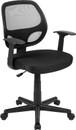 Flash Furniture JJ-C14501-YLW-GG 350 Lb. Yellow Resin Wood Adirondack Chair