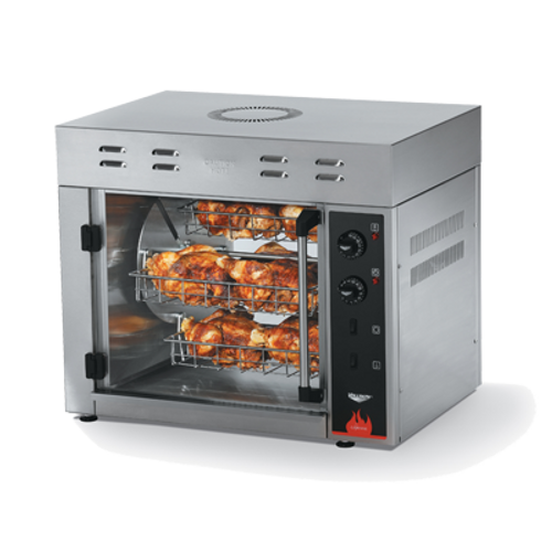 Vollrath 40841 Electric Countertop Rotisserie Oven - 220 Volts