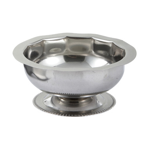 Winco SD-5  5 Oz.  Stainless Steel  Sherbet Dish (Contains 1 Dozen)