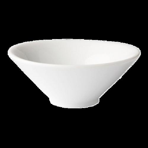 "Matfer Bourgeat 970058  4""  3-1/3 oz  Porcelain  Round  Petit Bowl Evaz"