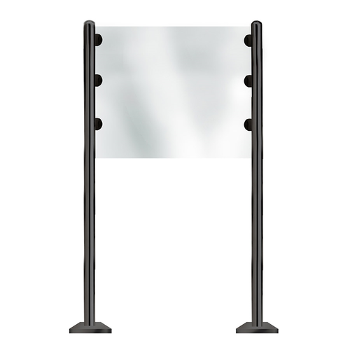 Eastern Tabletop ST8510ACMB Floor Partition