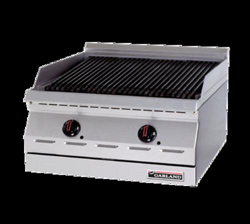 "Garland GD-18RB 18"" Gas Countertop Designer Series Charbroiler - 45,000 BTU"