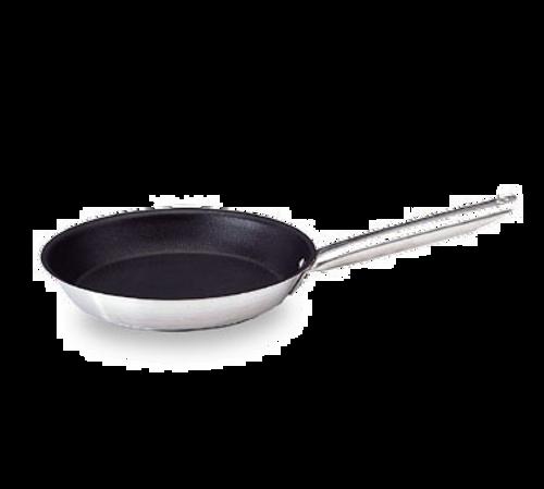 "Matfer Bourgeat 669424 9.5"" 1.50 Qt Stainless Steel / Aluminum Excalibur Fry Pan"