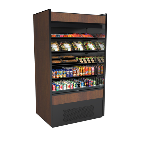 """Structural Concepts B5932 59.63""""W Oasis® Self-Service Refrigerated Merchandiser"""
