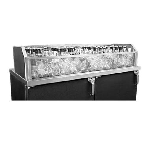 "Glastender GDU-12X54 Glass Ice Display Unit - 54""W x 12""D x 9""H"