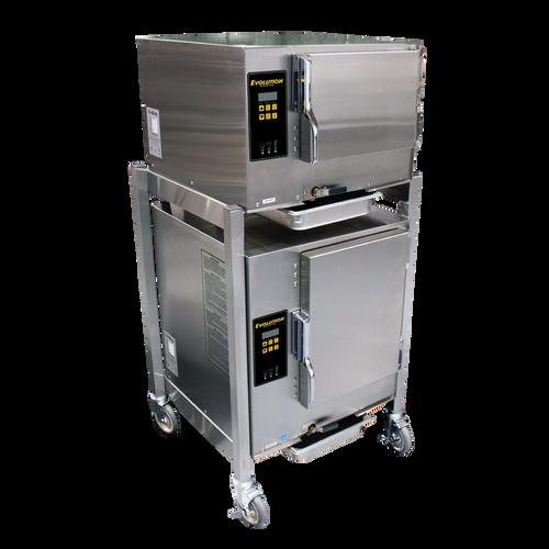 AccuTemp E62083D080 DBL 6 Pan Electric Boilerless Convection Steamer - (2) 208V