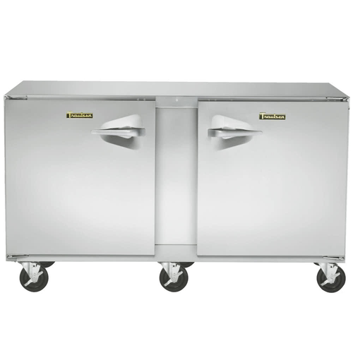"""Traulsen Uht72Rr-0300 72"""" W Two-Section Reach-In Dealer's Choice Compact Undercounter Refrigerator"""