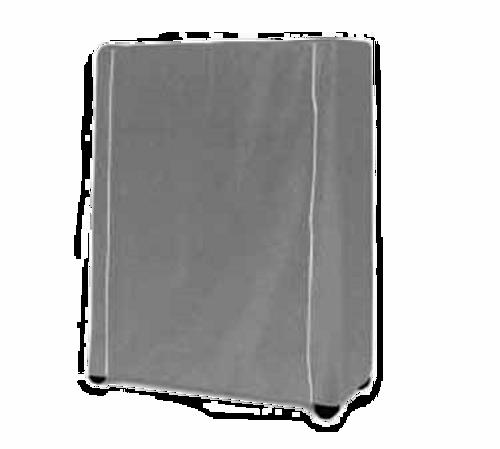 "Metro 18X36X54Vc Metro Cart Cover 36""W Vinyl-Nylon Coated With Velcro Fastener White"