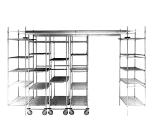 Metro FPS6N High-Density Top-Track Floor Pad Protectors 6 Foot Length