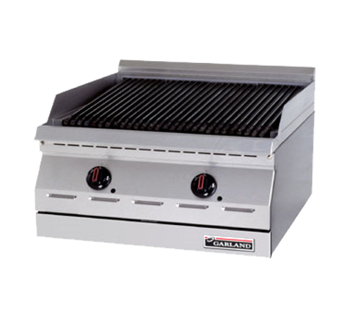 "Garland GD-36RB 36"" Gas Countertop Designer Series Charbroiler - 90,000 BTU"