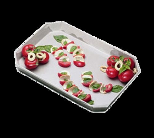 Bon Chef 5095BLKSPKLD  13 oz  Ceramic  Black  Octagonal  Serving/Casserole Dish