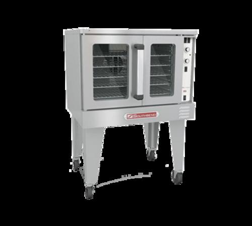 SouthbEnd SLGB/12CCH SilverStar Liquid Propane Single-Deck Convection Oven - 72,000 BTU