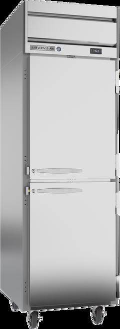 "Beverage Air HF1HC-1HS 26"" W One-Section  Solid Door Reach-In Horizon Series Freezer"