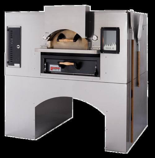 Marsal WF-60-LP Single-Deck Wave Flame Oven Liquid Propane - 40,000 BTU