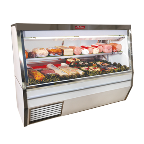 """Howard McCray R-CDS34N-12-LS-LED 144""""W Deli Meat & Cheese Service Case"""