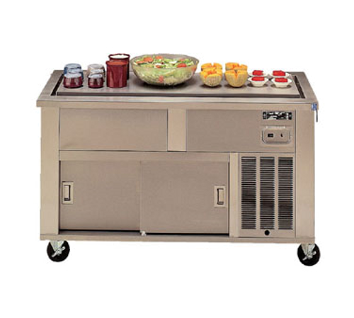 Piper Products 3-FT Stainless Steel 3 Pan Elite Frost Top Serving Counter