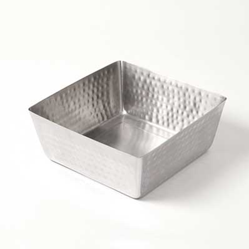 American Metalcraft SSQH94  146 oz  Stainless Steel  Square  Bowl