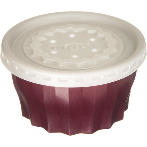 Dinex DX9200B61 Tropez 5 oz Cranberry Convection/Thermalization Ware Bowl