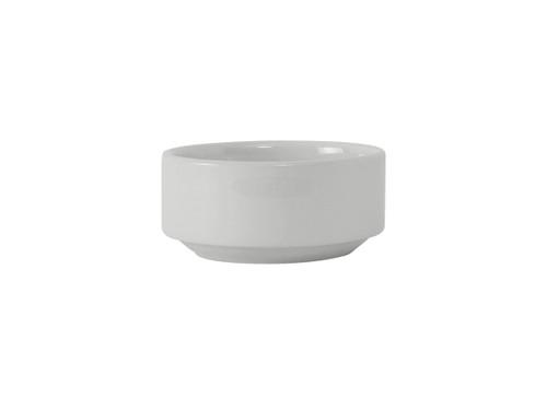 """Tuxton BWB-115S  4-5/8""""  11-1/2 Oz.  Ceramic  White  Round  Bowl"""