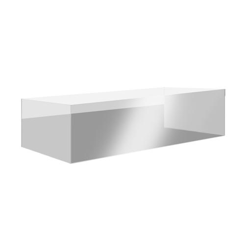 "Eastern Tabletop 8550AC 64""W Clear Polycarbonate Buffet Shield"
