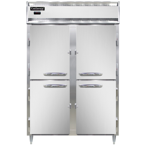 Continental Refrigerator DL2W-SS-HD Designer Line Heated Cabinet Reach-In