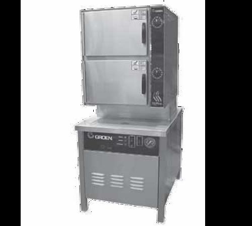 """Groen HY-10SM 24"""" Direct Steam Pressureless Steamer"""