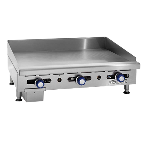 """Imperial IMGA-3628-1 36"""" Gas Countertop Griddle - 90,000 BTU"""