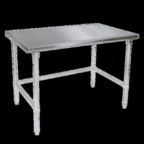 "John Boos ST4-3672SBK 72""W x 36""D Stainless Steel Work Table"