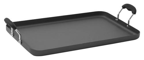 """Winco HAG-2012 19-5/8"""" L x 12-1/4"""" W Rectangular Aluminum Griddle"""
