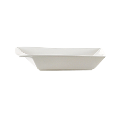CAC China KSE-B309  24 oz  Porcelain  Super White  Square  Accessories Bowl