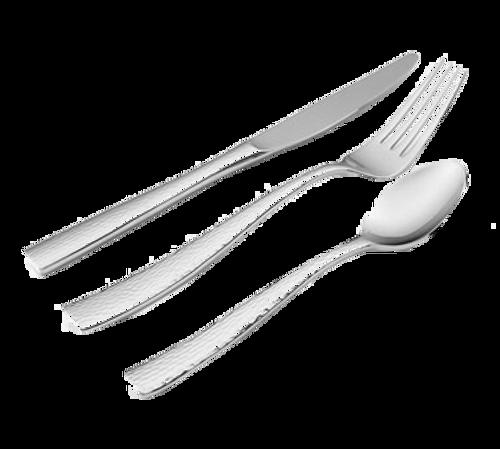 "Bon Chef S3901 6-3/8"" 18/10 Stainless Steel Scarlett Bouillon Spoon"