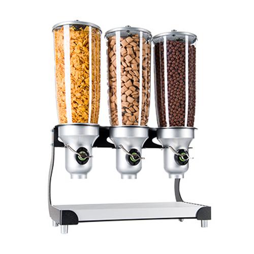 "Cal-Mil 3516-3-13FF Cereal Dispenser (3) 5L Capacity Cylinders 19"""