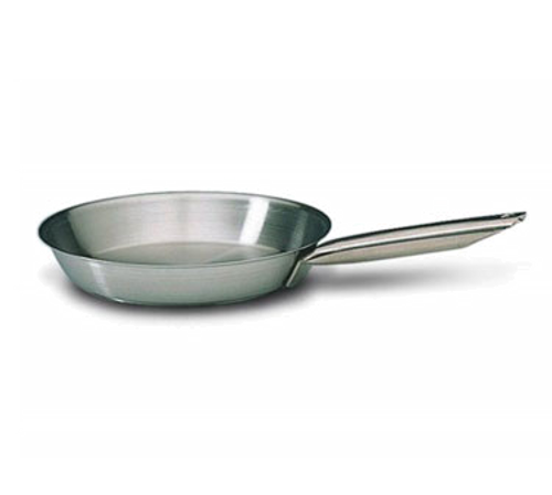 """Matfer Bourgeat 685028 11"""" Stainless Steel / Aluminum Tradition Plus Fry Pan"""