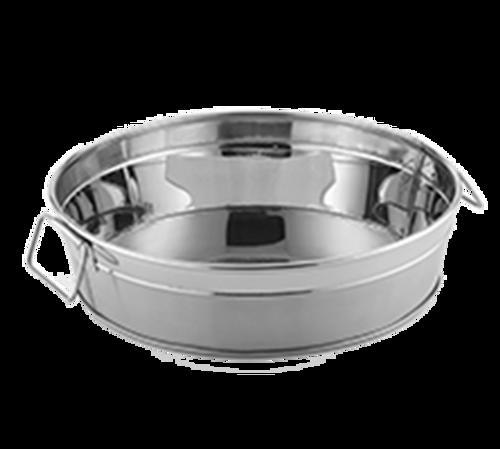 "American Metalcraft STUB12  11""  95 oz  Stainless Steel  Round  Tub"