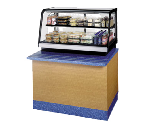 """Federal Industries CRR4828SS 48""""W Counter Top Refrigerated Self-Serve Rear Mount Merchandiser"""