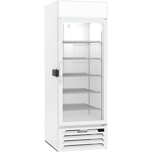 """Beverage Air MMF23HC-1-W-IQ 29.5""""W One-Section Glass Door MarketMax™ Freezer Merchandiser"""