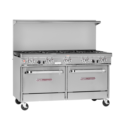 "Southbend 4601DD-3TR 60"" Gas Ultimate Restaurant Range - 273,000 BTU"