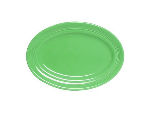 Tuxton CTH-096  Ceramic  Cilantro  Oval  Platter