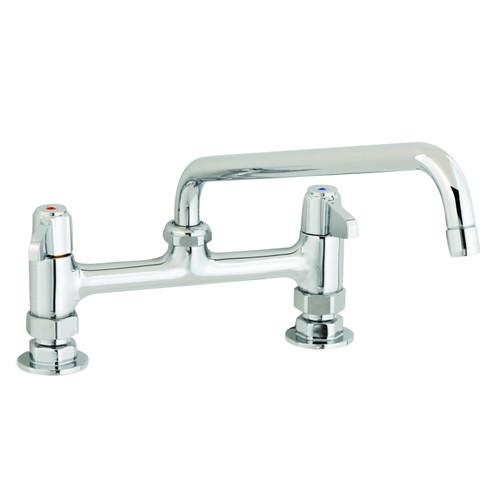 "T&S Brass 5F-8DLX16 Equip Faucet 8"""