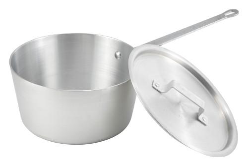 Winco ASP-2 2.50 Qt Aluminum Sauce Pan