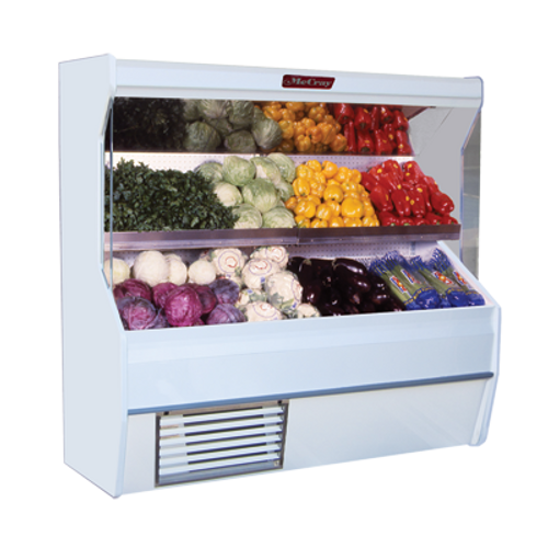 "Howard McCray R-P32E-8S-S-LED 98""W Produce Open Merchandiser"