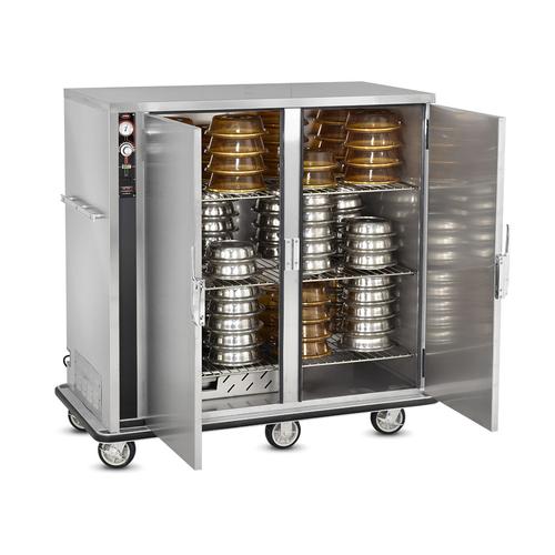 FWE P-120-2-XL 120 Covered Plates P-Series Banquet Cart