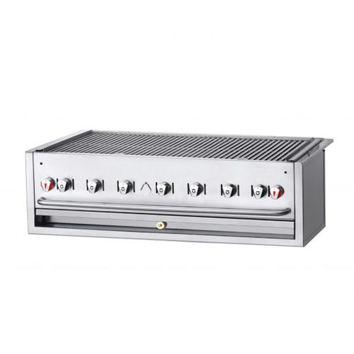 "Crown Verity CV-BI-48-2LP 51.5"" Liquid Propane Outdoor Charbroiler - 99,000 BTU"