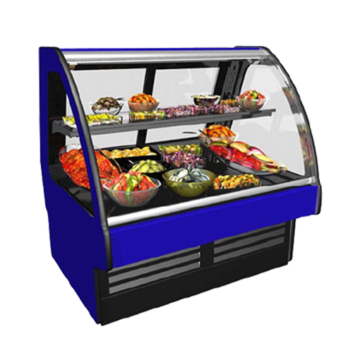 """Structural Concepts GMDS5R 62.88""""W Fusion Refrigerated Service Case"""